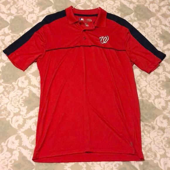 d1ccd974 Other | Washington Nationals Collared Shirt | Poshmark